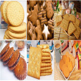 Saiheng automáticas de acero inoxidable de la línea de producción de galletas con Ce aprobó