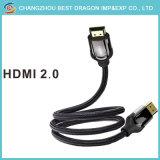 아BS 쉘 유형 C에서 4K 3D 2016p 60Hz까지 HDMI 케이블 2.0 지원