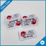 Marca Barata Personalizado Mínima Reduzida Tecidos de etiquetas de costura para fabrico de vestuário