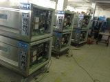 Four de gaz commercial de paquet de double monophasé de four dans le matériel de traitement au four