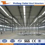 Costruzioni fabbricate strutturali del gruppo di lavoro della fabbrica della struttura d'acciaio dell'indicatore luminoso di basso costo con il magazzino di disegno dell'illustrazione della gru