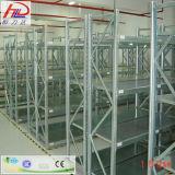 El estante largo de la estantería del palmo del almacén con el SGS aprobó
