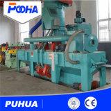 Stahlstreifen-Rad-Granaliengebläse-Maschine