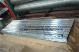 Placa de acero resistente al desgaste ondulado para la construcción de techos de pared