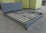 Мебель спальни твиновской кровати платформы ткани (OL17165)