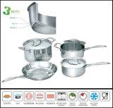 Het nieuwe Roestvrij staal van Products 3ply Cookware