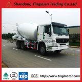 HP du camion 371 de mélangeur concret de HOWO 10m3