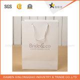 Sac de vêtement de papier de papier de traitement de coton d'emballage de qualité