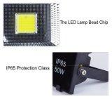 Indicatore luminoso di inondazione economizzatore d'energia di alto lumen IP65 100W LED