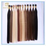 Das kundenspezifische gezeichnete Qualitäts-Doppelte spitze ich Extensions-Haare mit Fabrik-Preis Ex-012