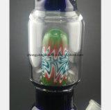 Blauer Glaswasser-Rauch-Gewehr-Farben-Farbton-Filter
