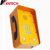 Телефон Knzd-09A комбинаций WiFi VoIP напольный непредвиденный