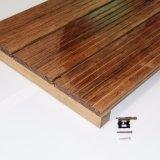 Suelo de bambú tejido hilo al aire libre barato impermeable