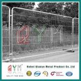 Покрынный порошком сваренный барьер проезжей части барьера загородки ячеистой сети временно