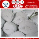 200g/Sqm ponen en cortocircuito el geotextil perforado aguja de la fibra para la alta manera