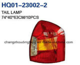 Conjunto de luces traseras se adapta a el Hyundai Accent 2006-2010.