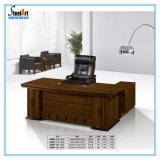 [أفّيس فورنيتثر] تصميم حديثة [ل] تنفيذيّ شكل خشبيّة مكتب طاولة ([فك-27])