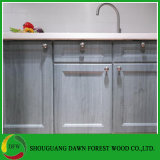 Europa Design simples de madeira cor de grãos de armários de cozinha