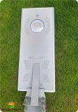 Крепление на стену15W Встроенный светодиодный индикатор на улице солнечной энергии со всеми в одну конструкцию (SNSTY-215)