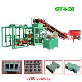 Automatische hydraulische Straßenbetoniermaschine-Ziegeleimaschine des Sicherheitskreis-Qt4-15