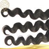Unverarbeitete preiswerte Großhandelsjungfrau-nasses und wellenförmiges Remy Haar