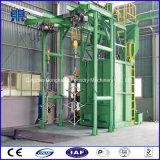Máquina catenaria del chorreo con granalla de Q4810h