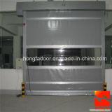 Tissu industriel en PVC à grande vitesse Porte roulante avec certification Ce (HF-K05)
