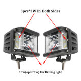 Nueva versión Shooter lateral coche LED de luz de conducción de luz LED luz LED de trabajo 4 pulgadas 36W LED CREE