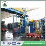 Papierverpacken der hydraulische horizontale Ballenpreßmaschinen-Abfall-Plastikballenpresse160t