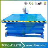 1ton à la plate-forme hydraulique de levage de marchandises des ciseaux 3ton