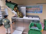 Macchina di riciclaggio dei rifiuti dell'alimento, spreco di alimento che concima con la composta macchina