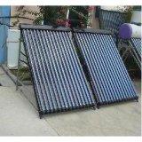 Solarkeymark En12975 Copper Heat Pipe Solar Collector avec cadre en aluminium