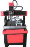 macchina da tavolino del router di CNC del macchinario dell'incisione del metallo 3D con rotativo