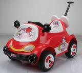 Bebé Electric viaje en coche con mando a distancia con la varilla de empuje