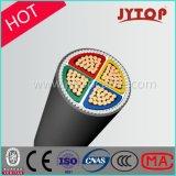 кабель изоляции 0.6/1kv 4core XLPE медный с стальным бронированный кабелем