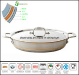 5ply Copper Core Body Fry Pan