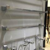 8052 Accessoires de salle de bains moderne serviette unique Bar Finition chromée