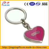 Atacado Alta qualidade Metal Coração Chaveiro, Presentes Promocionais Chaveiros
