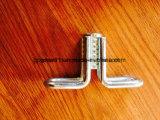 Inserto di sollevamento saldato galvanizzato del Wingnut dell'inserto del hardware concreto della costruzione del TUFFO caldo