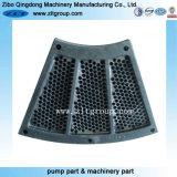 OEM de acero al carbono con piezas de fundición de arena de mecanizado CNC