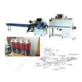 Garrafas de bebidas de fileira única shrink wrapping Machine