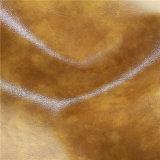 Cuir résistant de PVC de tissu de sofa de deux sons d'abrasion (818#)