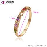 China Wholesale Xuping Fashion 18k Gold - Plated Elegant Zircon Bangle (51317)