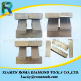Приспособление для резания отвала с несколькими алмазных сегментов для конкретных