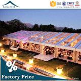 500か1000人のすべてのイベントおよび機会のための理想的な屋外の大きいゆとりPVC布張の玄関ひさしの透過テント