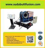 Máquina de soldadura apropriada da oficina Sdf630 para fabricar as tubulações Thermoplastic como o cotovelo, T/cruz, encaixes da forma de Y