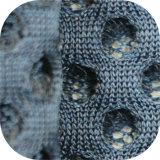 Tissu net du haut-parleur A1644/tissu de maille net tricoté d'air de sandwich au polyester 3D