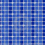 Tijolo de vidro da cor azul da onda do mar (JINBO)