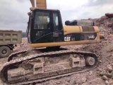 Trattore a cingoli usato 340dl 2014 dell'escavatore di condizione di lavoro