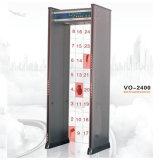 金属探知器VO2400による24のゾーンの歩行
